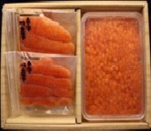 (送料込み) 辛子明太子 いくら醤油漬詰合せ 丸市食品(株)(期日指定できません)