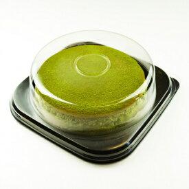 送料無料 ソルシエ スイーツ デコ ケーキ 洋菓子 抹茶スフレチーズケーキ5寸|73638|