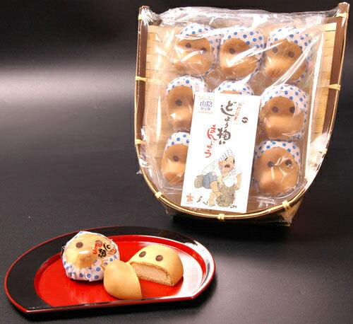 中浦食品(株) 島根 境港 直送 海産 なかうら かご入り どじょう掬いまんじゅう 74159:銘菓