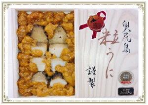 送料無料 (有)ヤマチュウ食品 北海道 奥尻 うに あわび ヤマチュウ食品 奥尻産 昆布〆あわび入 粒うに|22729|