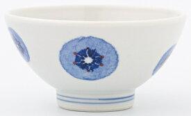 【エントリーでポイント5倍! 12/1 10:00 - 1/1 9:59まで】砥部焼き きよし窯 茶碗 青ポピー