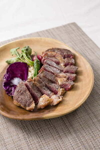 (送料込み) チャックアイロール1ポンドステーキ 「発酵熟成肉」 石井食品(期日指定できません)