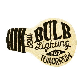 Object モチーフ フロア マット (BULB) 66.5cm×47.5cm 玄関マット ラグマット 【あす楽対応】
