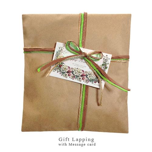 GIFT LAPPING ギフトラッピング ≪有料ラッピングサービス≫ 選べるメッセージカード付き / インテリア雑貨・ファッション小物のラッピング