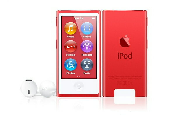 iPod nano 本体 (PRODUCT)RED APPLE アイポッド ナノ 赤 レッド アップルストア限定カラー 16GB【楽ギフ_包装】