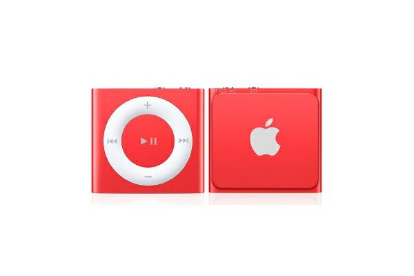 iPod shuffle シャッフル アイポッド 本体 RED 赤 レッド アップルストア限定カラー 2GB【楽ギフ_包装】【02P11Apr15】