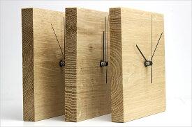 オシャレ 掛け時計 壁掛け 置時計 静音 オーク レトロ 新築祝い ギフト アンティーク スイープ運針【送料無料】【あす楽】