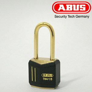 ABUS 真鍮 南京錠 T84MB 15サイズ キー3本付【アバス T84MB/15LS】