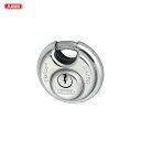 [円盤形の定番] ABUS 南京錠 Diskus 24IB 50サイズ キー3本付 シリンダーカバー無し 多用な攻撃を防ぐ丸型南京錠 水に…