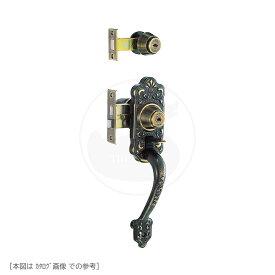 [2ロック] YKK サムラッチハンドル錠 M-62 BS64mm MIWA TESP + HBZSP U9キー3本付【左右勝手兼用】【YKKap DH=1900 装飾錠】【M62】【美和ロック】【送料無料】