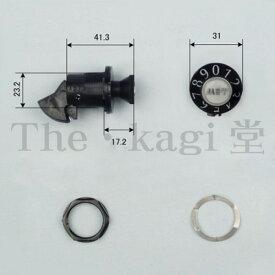 タジマ ダイヤル錠 旧型 PJ-1 タテ用【TAJIMA MET 96ダイヤル錠】【PJ1】