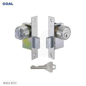 GOAL ケースロック型 本締錠 1503-5 キー3本付属 鍵 交換 取替え【バックセット32mm】【ゴール GOAL 1503 PSタイプ】【ガラス戸 狭縦框 向け】