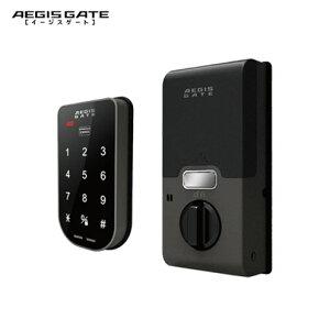 AEGIS GATE タッチパネル式 暗証番号 電子錠 登録カードキー3枚付属 ICシール1枚付属 玄関 鍵 交換 取替え【イージスゲート】【MIWA GOAL】