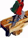 丸太を製材する用具 エッジングミル(ミニミル)丸太から柱材を製材する際威力を発揮