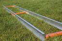 トラックシステム(長さ304cm) ポーターミル アクセサリ お持ちのチェンソーを取り付けて 丸太 製材 丸太の製材 梯子 …