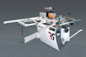 Robland万能機( HX PRO ) テーブルソー モルダー 自動カンナ 手押カンナ 作業場 スペース 有効利用
