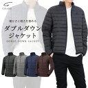 ダウンジャケット メンズ 【中綿が約2倍!暖かく軽いダウン】 中綿ジャケット 防寒 ライトダウン 寒さ対策 あったか…