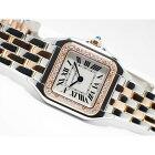 【中古】カルティエ(Cartier)パンテール ドゥ カルティエ ベゼルダイヤ SM 18KPG×SS  W3PN0006