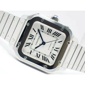 【中古】カルティエ(Cartier)サントス ドゥ カルティエ MMサイズ ステンレス WSSA0010