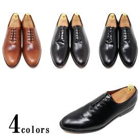 ハンドメイド 本革 メンズ レザーソール ホールカット プレーントゥマッケイ製法 革靴 革底 ブラック ダークブラウン ライトブラウン レッドブラウン 黒 茶ビジネスシューズ カジュアル ビジカジ グッドイヤーウェルト製法 紳士靴 手作り靴