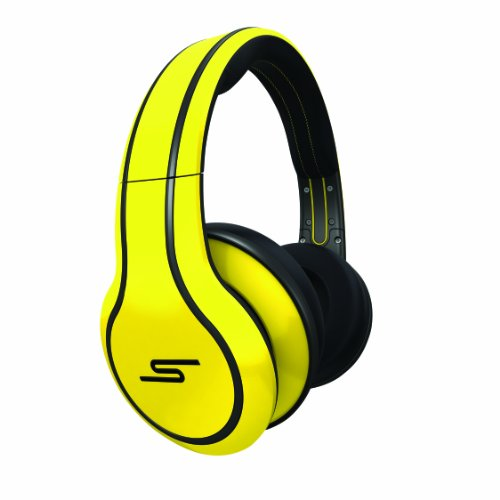 SMS Audio SMS-WD-YLW ストリート by 50 Cent Wired オーバー-Ear Headphones - イエロー 『海外取寄せ品』