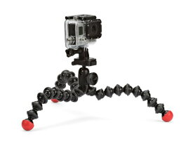 Joby JB01300-BWW GorillaPod アクション Tripod with Mount for GoPro (Black/Red) (Discontinued by Manufacturer) (海外取寄せ品)