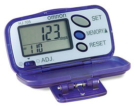 Omron HJ-105 Pedometer with Calorie カウンター 「汎用品」(海外取寄せ品)