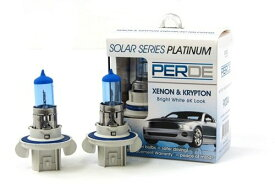 06-12 Mitsubishi Eclipse Spyder PERDE Xenon H13 9008 Headlight Light Bulbs ダイヤモンド ホワイト 6000K (海外取寄せ品)