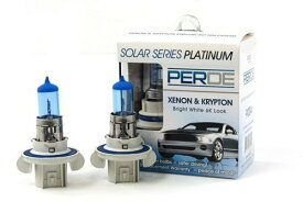 06-12 Mitsubishi Eclipse PERDE Xenon H13 9008 Headlight Light Bulbs ダイヤモンド ホワイト 6000K (海外取寄せ品)