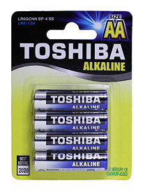 TOSHIBA AA Alkaline Batteries 1.5 volts 48 Cards BP/4 (192 Batteries) 「汎用品」(海外取寄せ品)