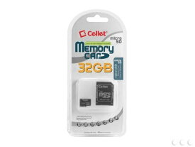 Cellet 32GB Huawei U8180-1 Micro SDHC Card is Custom Formatted for デジタル ハイ スピード, lossless recording! インクルーズ スタンダード SD Adapter. (海外取寄せ品)