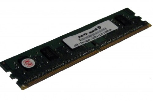 4GB Memory Upgrade for HP Pavilion HPE h8-1130fr DDR3 PC3-10600 1333MHz DIMM Non-ECC デスクトップ RAM (PARTS-クイック BRAND) (海外取寄せ品)