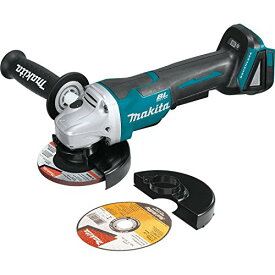 """Makita XAG11Z 18V LXT Lithium-イオン Brushless Cordless 4-1/2"""" / 5"""" Paddle Switch カット-Off/Angle Grinder with Electric Brake - Tool オンリー 「汎用品」(海外取寄せ品)"""