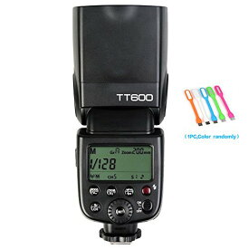 Godox TT600 フラッシュ Speedlite with ビルトイン 2.4G Wireless Transmission for キャノン Canon, Nikon, Pentax, Olympus and and other デジタル Cameras with スタンダード Hotshoe+ CONXTRUE USB LED free ギフト 「汎用品」(海外取寄せ品)