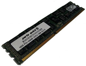 16GB メモリ memory for Intel R1304GZ4GC Server System DDR3 PC3-14900 1866 MHz ECC レジスター DIMM RAM (PARTS-クイック BRAND) (海外取寄せ品)