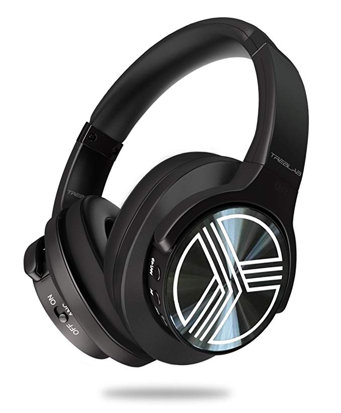 TREBLAB Z2 - Supreme ブルートゥース Wireless Headphones - アクティブ Noise Cancelling T-Quiet, Flawless aptX Sound, Neodymium 40mm Speakers, Cloud-Like コンフォート Best For Airplane トラベル, Office - Microphone 『海外取寄せ品』