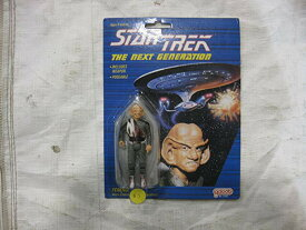 スタートレック Star Trek The Next Generation Ferengi Poseeable Figure With Weapon From Galoob 1988 (海外取寄せ品)