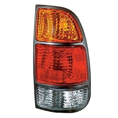 Go-Parts ≫ Compatible 2000-2006 Toyota Tundra Rear Tail Light ランプ Assembly/レンズ / カバー - Right (Passenger) Side - (Standard Cab Pickup + Extended Cab Pickup) 81550-0C010 TO2801129 リプレイスメント for (海外取寄せ品)