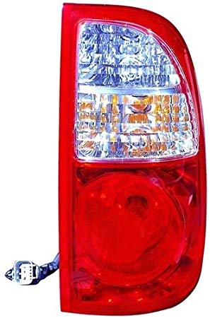 Go-Parts ≫ Compatible 2005-2006 Toyota Tundra Rear Tail Light ランプ Assembly/レンズ / カバー - Right (Passenger) Side - (Standard Cab Pickup + Extended Cab Pickup) 81550-0C060 TO2801161 リプレイスメント for (海外取寄せ品)