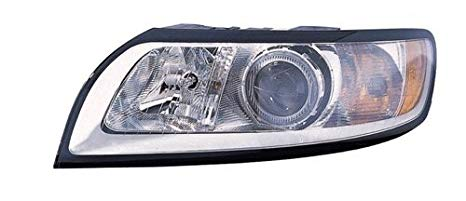 Go-Parts ≫ Compatible 2008-2011 Volvo V50 フロント Headlight Headlamp Assembly フロント ハウジング/レンズ / カバー - Left (Driver) Side 31265706-7 VO2502125 リプレイスメント for Volvo V50 (海外取寄せ品)