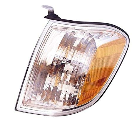 Go-Parts ≫ 2005-2007 Toyota Tundra Turn Signal Light Assembly リプレイスメント/レンズ カバー - フロント Left (Driver) Side - (Crew Cab Pickup) 81520-0C030 TO2530147 (海外取寄せ品)