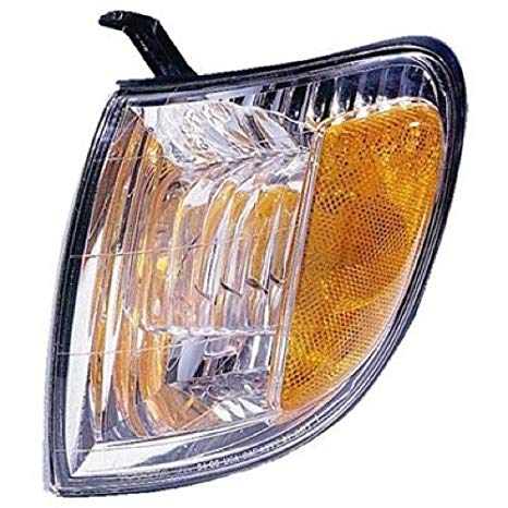 Go-Parts ≫ 2000-2004 Toyota Tundra Turn Signal Light Assembly リプレイスメント/レンズ カバー - フロント Left (Driver) Side - (Standard Cab Pickup + Extended Cab Pickup) 81520-0C010 TO2530135 (海外取寄せ品)