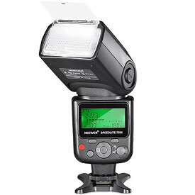 Neewer 750II TTL フラッシュ Speedlite with LCD ディスプレイ for Nikon D7200 D7100 D7000 D5500 D5300 D5200 D5100 D5000 D3300 D3200 D3100 D3000 D700 D600 D500 D90 D80 D70 D60 D50 and Other Nikon DSLR Cameras 「汎用品」(海外取寄せ品)