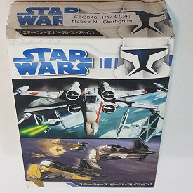 F-Toys スターウォーズ Star wars Naboo N-I StarFighter Aircraft 1/144 Scale Spaceship キット (海外取寄せ品)