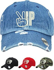 Allntrends アダルト Dad ハット VIP ヴィンテージ Dad ハット Embroidered プリント (Camo) (海外取寄せ品)