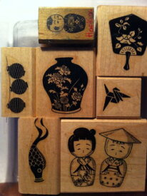 Stampin' Up! ギフト From the オリエント Orient ラバー Stamp セット (海外取寄せ品)