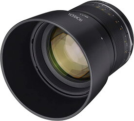 Rokinon Series II 85mm F1.4 Weather シール Telephoto レンズ for Nikon with Bult-in AE チップ (SE85AE-N) (海外取寄せ品)