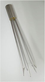 Cressi Paralyzer Tip for Pole Spear, 5 Barbed prongs (海外取寄せ品)