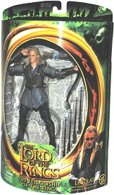 The ロード オブ ザ リング Lord of the Rings Fellowship of the Rings Legolas アクション Figure (海外取寄せ品)