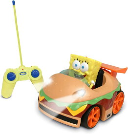 NKOK Remote Control Krabby Patty Vehicle with スポンジ ボブ (海外取寄せ品)